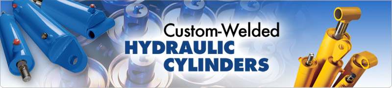 Custom-Welded Hydraulic Cylinders